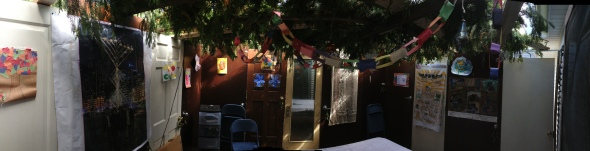 Panoramic View of the Sukkah