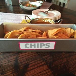Hand Made Chips at MEX