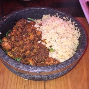 The Quinoa bowl at MEX
